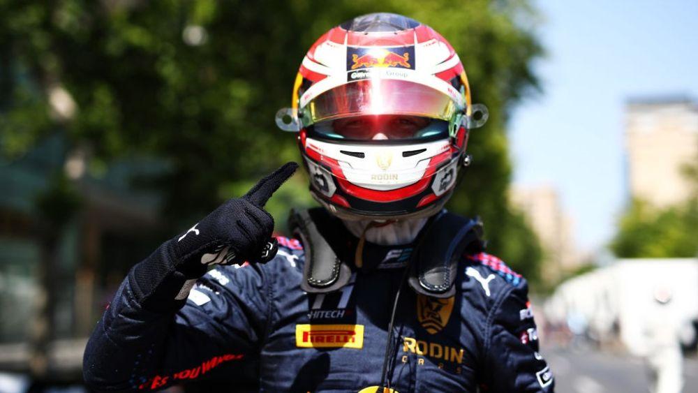 Lawson supera Hitech one-two em Baku com o primeiro pólo F2