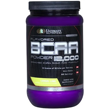 Ultimate Nutrition BCAA Powder, 1 lb (60 Servings)