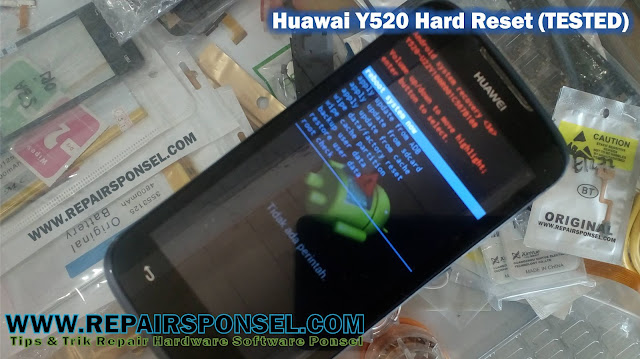 Hard Reset Huawai Y520 (TESTED)