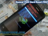 Hard Reset Huawai Y520 Sukses (Tested)