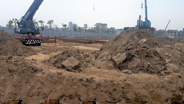 Tiến độ tháng 12 dự án Sunshine Green Iconic Phúc Đồng Long Biên