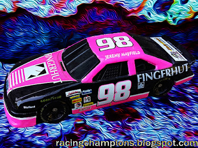 Jeremy Mayfield #98 Fingerhut Ford Racing Champions 1/64 NASCAR diecast blog 1994 Cale Yarborough 2017