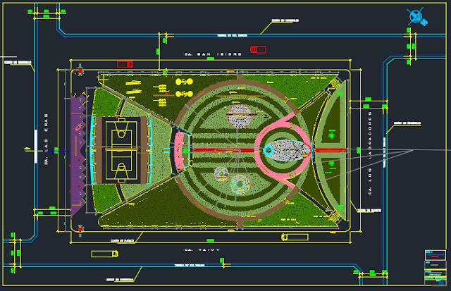 Planos de parque infantil juegos mecanicos aporte a la for Planos ingenieria civil