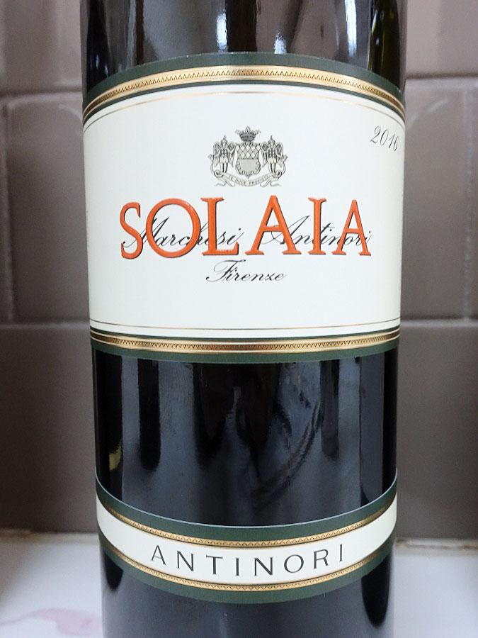 Solaia 2016 (95 pts)