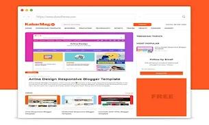 KabarMagz Responsive Blogger Template - Responsive Blogger Template