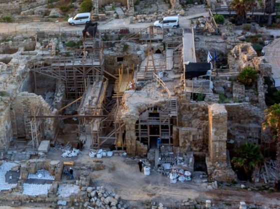 Israel by Hadarling Exposing Caesarea's Hidden Treasures and Upgrading the Tourism Product