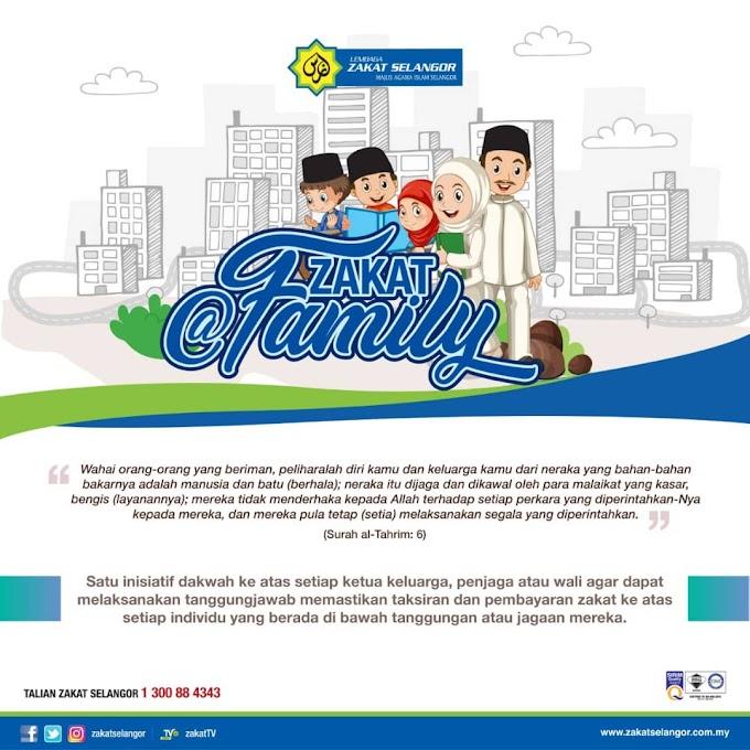Zakat@FAMILY dari Lembaga Zakat Selangor (LZS)