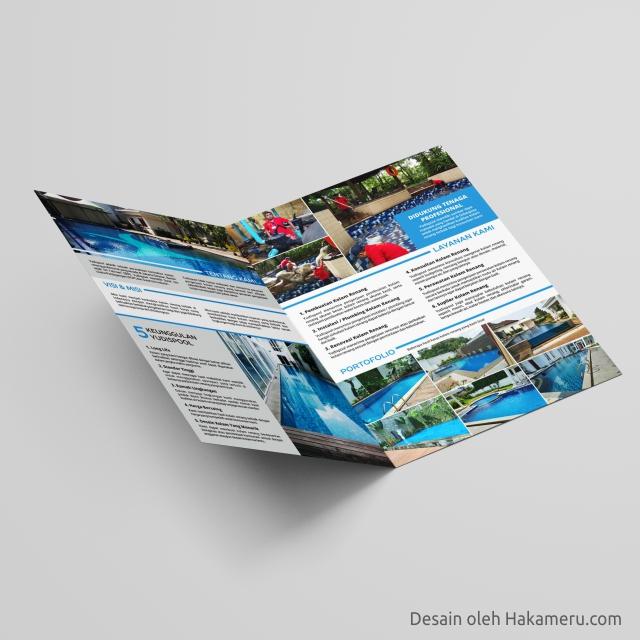 Desain Company Profile Perusahaan Swimming Pool Kolam Renang