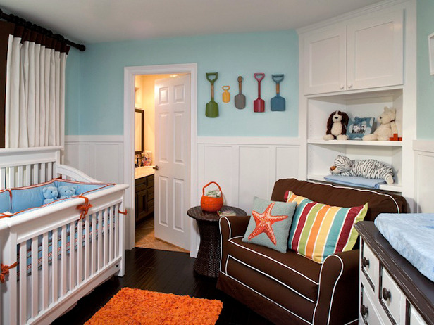 Beach Vintage Nursery Theme It Looks Like Ll Be Summer Time All Year Long In This Little Ones Room Was Featured Design Ideas For Baby
