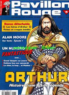 arthur, histoire d'un bd de légende
