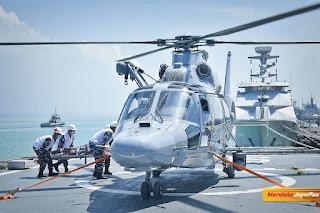KRI SIM-367 Laksanakan Latihan Jelang Misi Perdamaian Di Lebanon