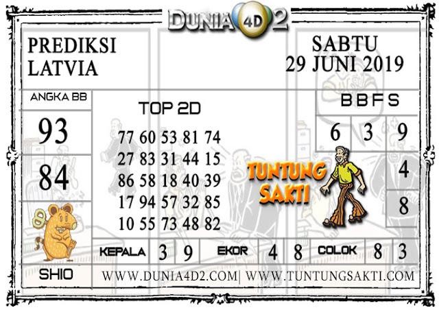 """Prediksi Togel """"LATVIA"""" DUNIA4D2 29 JUNI 2019"""