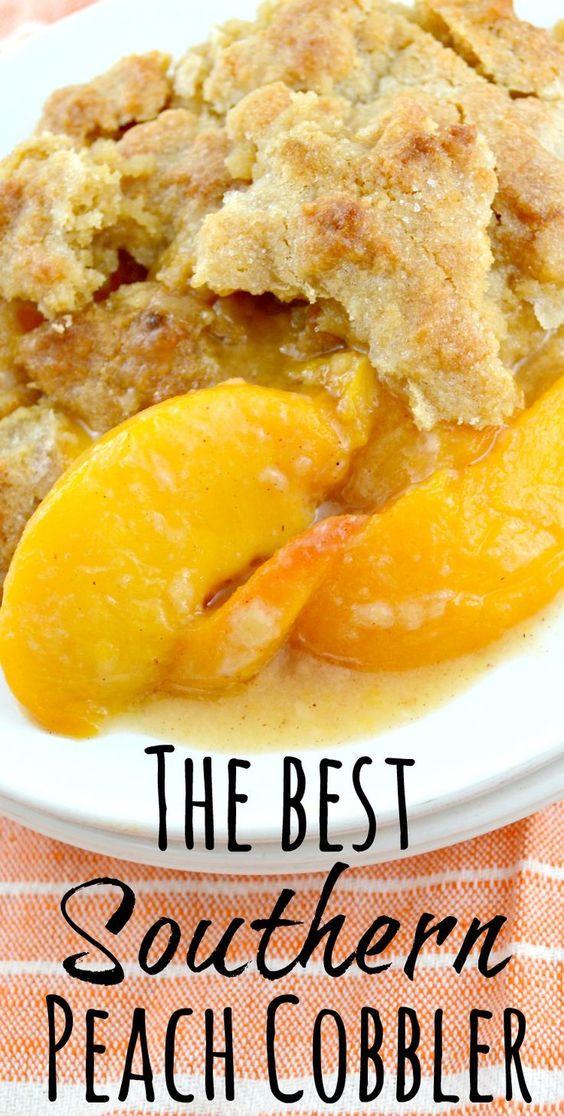 Southern Peach Cobbler #southern #peach #cobbler #cake #cakerecipes #dessert #dessertrecipes