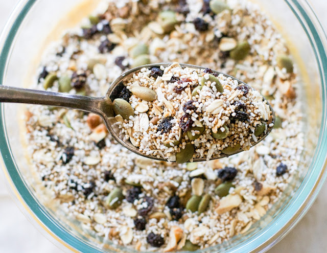 popped amaranth breakfast cereal