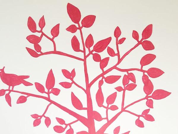 Comment peindre un motif dans une chambre de bébé ? (sans s'embêter et sans se ruiner)