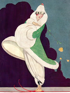 fashion antique coat women illustration artwork