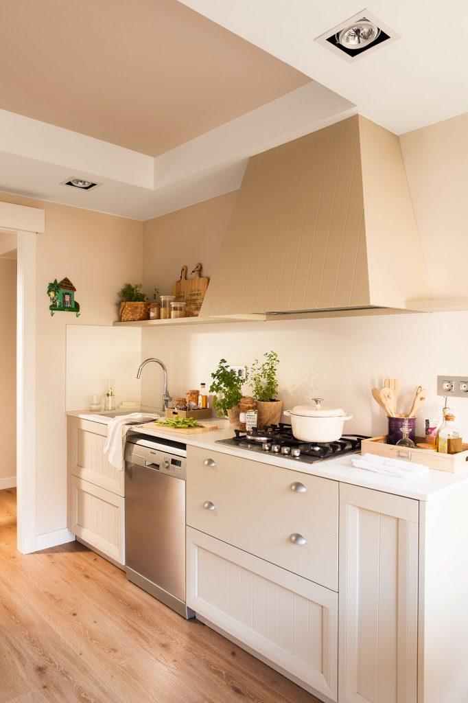 Tigum magazine cocinas inspiradoras sin azulejos - Cocinas sin azulejos ...