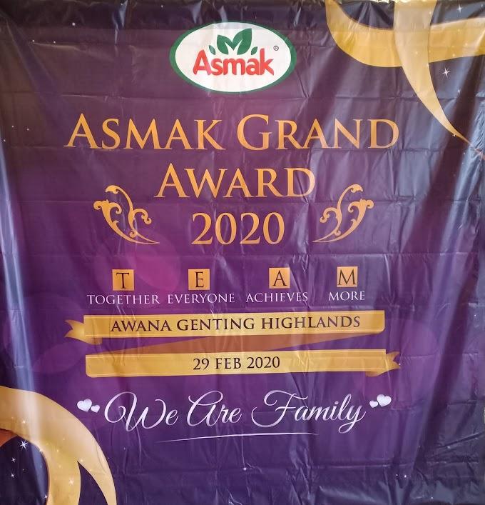 Asmak Grand Award 2020