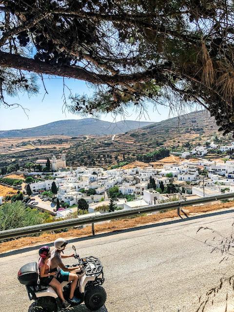 road trip sur les cyclads