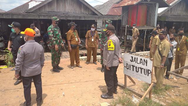 Wakapolres HSU Kompol Irwan Hadiri dan Siap Sukseskan Pembukaan TMMD Ke -109 di Desa Sarang Burung