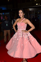 Catherine Tressa looks super cute in strapless sleeveless deep short dress at 64th Jio Filmfare Awards South ~  Exclusive 010.JPG