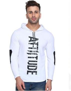 New INN! Stylish Printed Cotton Hooded Tees