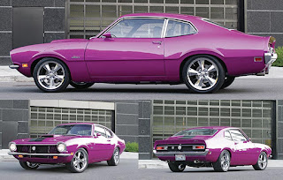 1970 Ford Maverick Violet Color