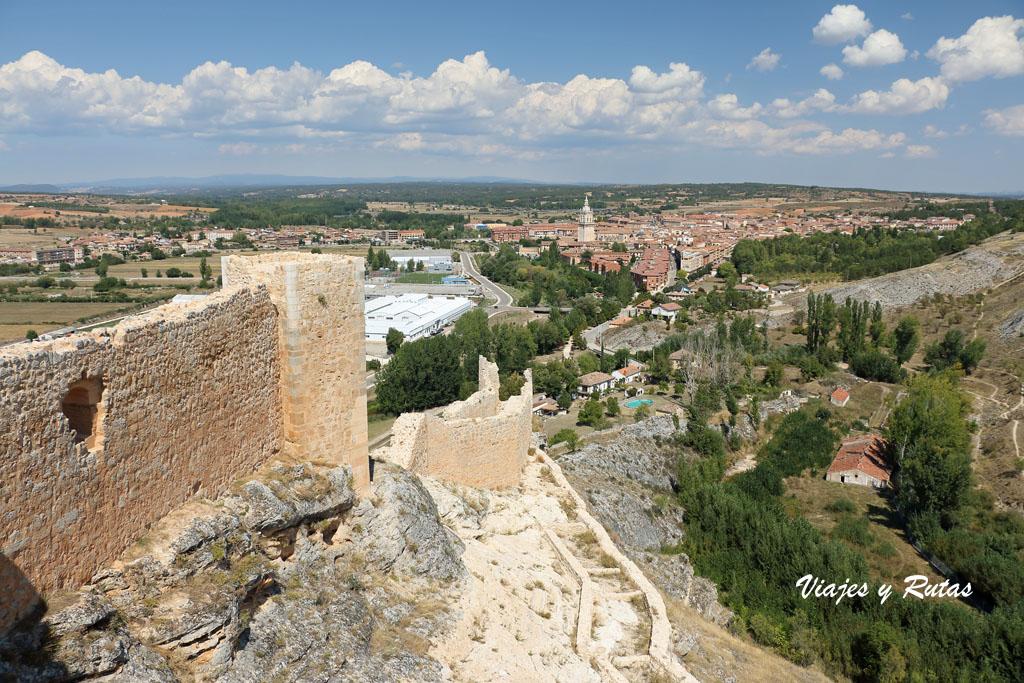 Vistas desde el Castillo de Osma, Soria