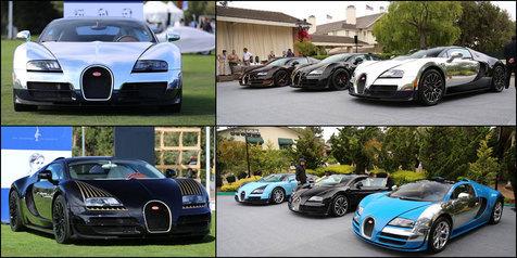 6 Legenda Bugatti Dalam Satu 'Panggung'!