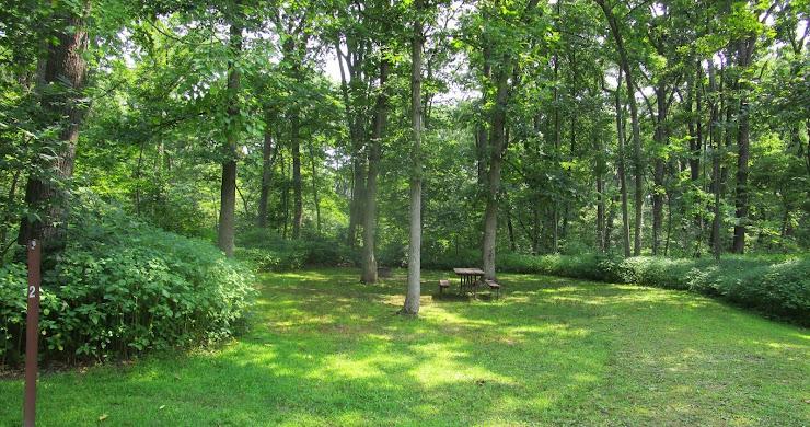 Campsite Photos: Nelson Dewey State Park