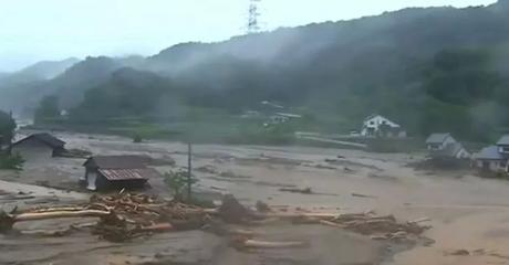 Banjir di Jepang, 11 Orang Tewas, 14 Orang Dilaporkan Hilang