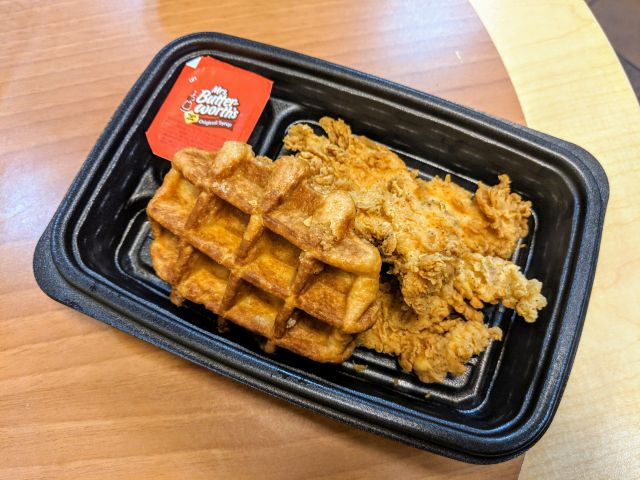 Review: KFC - Chicken and Waffles