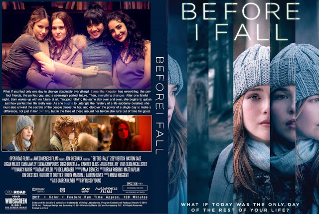 Before I Fall DVD Cover