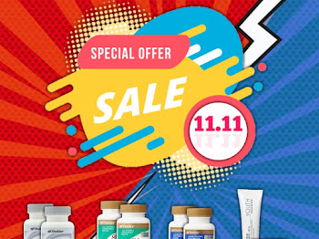 11.11. 18 ONLY 1 DAY SHAKLEE ONLINE SALE