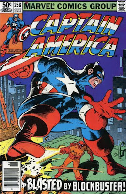 Captain America #259, Blockbuster