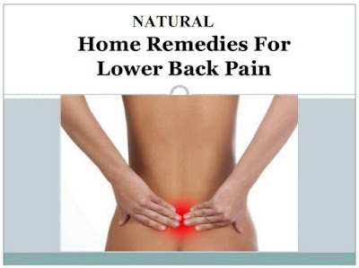 Natural Home Remidies for Back Pain
