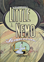 Book cover to Winsor McCay's Little Nemo in Slumberland Volume 1
