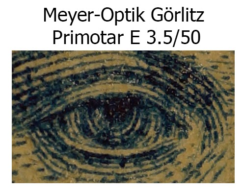 Meyer-Optik Görlitz Primotar E 3.5/50