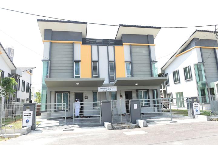 Kemudahan asrama di MTI