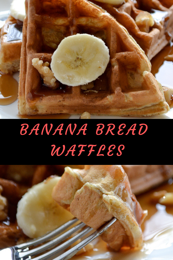 BANANA BREAD WAFFLES RECIPE