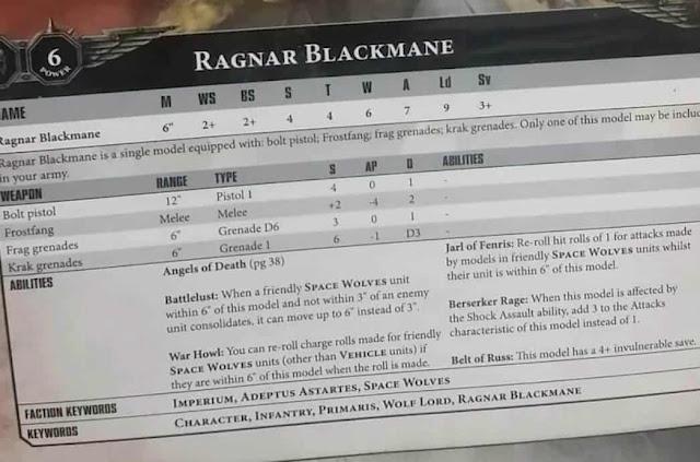 hoja de datos Ragnar Blackmane