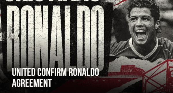 Trang chủ MU xác nhận Ronaldo đã đồng ý trở lại Old Trafford