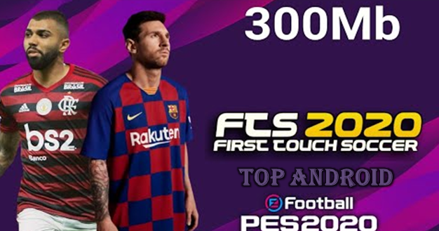 EFoolball PES 2020 MOD FTS 20 Android Offline 300MB First