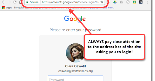 Beware of Phishing, Increase the Security of your Google Account