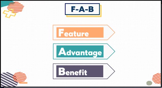 FAB Copywriting Formula
