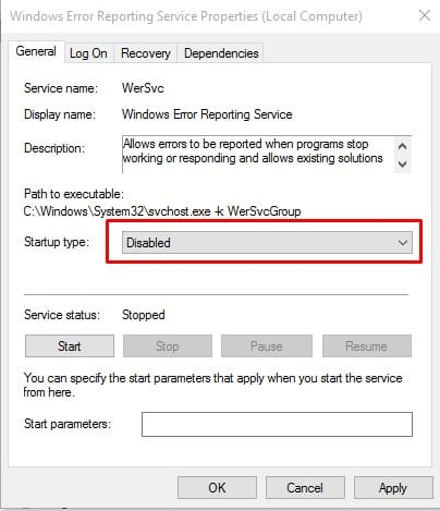 How to stop reporting from Windows 10?