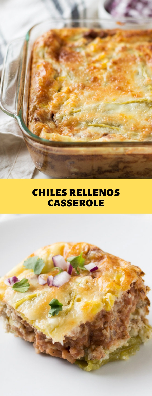 CHILES RELLENOS CASSEROLE