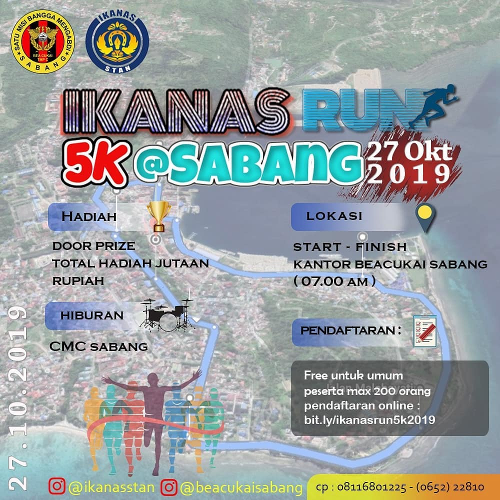 Ikanas Run - Sabang • 2019