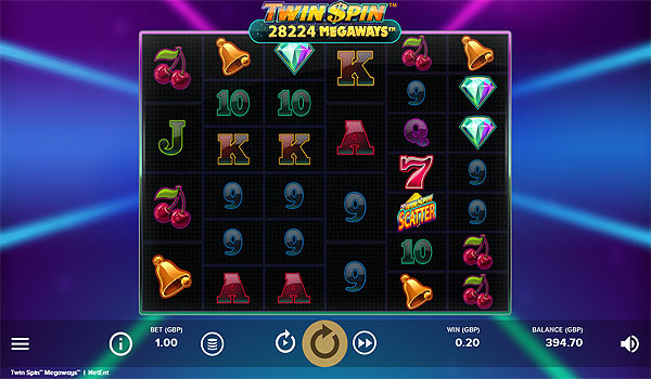 Main Gratis Slot Indonesia - Twin Spin Megaways NetEnt