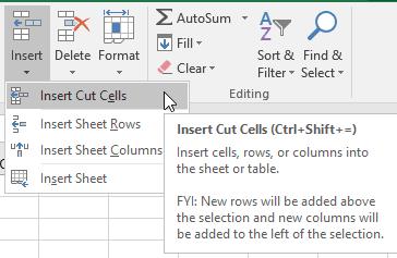 Gambar Insert Cut Cells